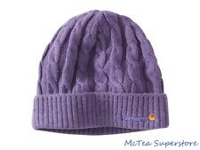 Carhartt Women's Acrylic Cable Knit Hat WA061 Beanie Cap Grape Heather One Size