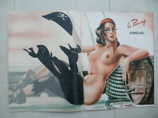Rare  Magazine  PARIS  HOLLYWOOD n° 110  + PIN-UP déshabillable (fin années 40)