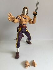 Sota Toys Vega Street Fighter Round 2 Action Figure Rare LOOSE NO ROSE