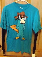 LONG SLEEVE PERRY FROM PHINEAS AND FERB SHIRT SIZE 2XL BOYS