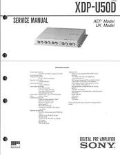 Sony Original Service Manual für XDP-U 50D