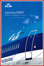 ANNUAL REPORT - KLM ROYAL DUTCH AIRLINES 1996-1997 - DUTCH
