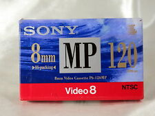Sony 8mm NTSC MP 120 Video 8 Video Cassette Tape P6-120MP 5111081