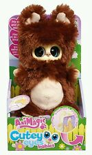 ANIMAGIC Cutey eyes babies, moving eyes & ears plush ABBY POPPY Brown,Kids  Gift