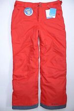 NWT Columbia Men's Arctic Trip Insulated Waterproof Red Snow Bibs Pants M