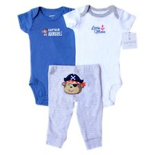 "Carter's 3-piece set, ""Captain Adorable"" (Pirate) – GBC-671, Size: Newborn"