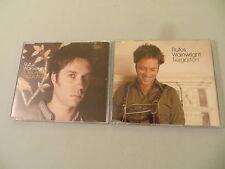 RUFUS WAINWRIGHT job lot of 2 promo CD singles Rules And Regulations Tiergarten