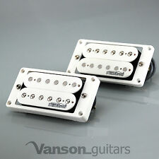 NEW Wilkinson 'HOT' WHITE Humbucker Pickup SET for Gibson, Epiphone ®* MWHB