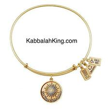 Wind & Fire Let Your Light Shine Charm Gold Stackable Bangle Bracelet Made USA