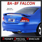 BRAND NEW REAR WING BOOT SPOILER XR8 XR6 STYLE FOR BA BF FALCON ABS XR SEDAN