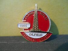 Oilfield Technical Society 1985 Curling Lapel Pin,St. John's,Newfoundland,Canada
