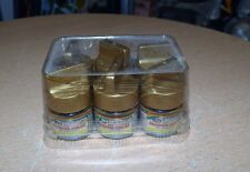Full Box of 6 Bottles Mr. Metal Modeler's Paint Brass NEW