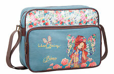Official Winx Club Fairy Girls Messenger Satchel School Travel Laptop Bag