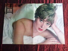 JILL ST JOHN - MAGAZINE CLIPPING- ( CENTRESPREAD PICTURE ) PIN -UP