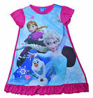 Girls Nightie Disney Frozen Nighty 2 - 8 UK seller Delivered in days not weeks