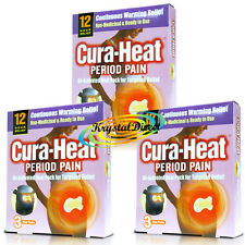 3x Cura Heat Period Pain Air Activated For Target Relief 3 Heat Packs (9 Pads)