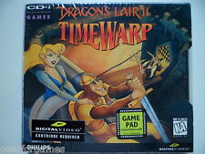 PHILIPS CDI CD-i GAME DRAGONS LAIR II 2 TIMEWARP SEALED NEW
