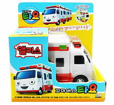 "Little Bus Tayo's Friend ALICE Ambulance Model/3.8"" Toy Pull-Back & Go/Animation"