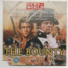 THE BOUNTY ~ MEL GIBSON - NEWS OF THE WORLD DVD PROMO