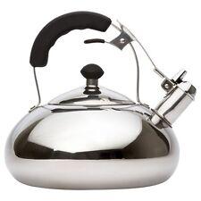 Stainless Steel Tea Kettle - Whistling Teapot Design - Large 3.0L (3.2 Quart)