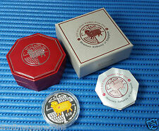 2015 Singapore Mint's 2 oz Lunar Year of the Goat $10 Silver Piedfort Proof Coin