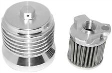 HIGH PERFORMANCE CLEANABLE REUSEABLE OIL FILTER POLISHED FITS MOST HARLEY