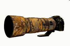 Nikon 200 500mm f5.6 ED VR Neoprene lens protection cover English Oak Camouflage