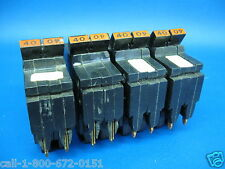 """1 - Federal Pacific 40 Amp 2 Pole 1"""" Thin Breaker Type NC - Chipped Plastic"""
