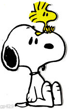 """4""""  SNOOPY & WOODSTOCK  VINTAGE CHARACTER  PREPASTED WALLPAPER BORDER CUT OUT"""