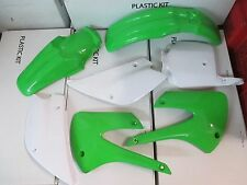 New Race Tech Replica Plastic kit  KAWASAKI KX85 KX100 1998-2013 fenders plates