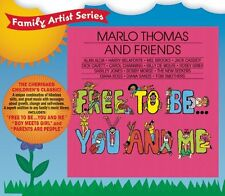 MARLO THOMAS AND FRIENDS CD - FREE TO BE YOU AND ME (2006) - NEW UNOPENED