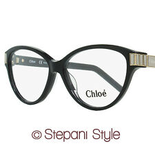 Chloe Oval Eyeglasses CE2654 001 Size: 53mm Shiny Black 2654