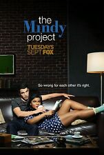 The Mindy Project TV Show Poster (24x36) - Mindy Kaling, Chris Messina, Ike NEW