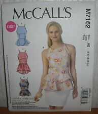 Womens/Misses Peplum Pullover Tops Sewing Pattern/McCall's M7152/SZ 6-14/UCN
