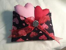 """Primitive Valentines """"Card""""/Envelope/Hearts/Bowl Filler/Tuck/Hearts"""