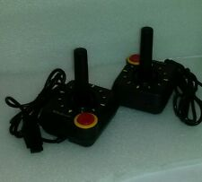 2X Joysticks for Atari Cx 2600 5200 C64 VCS Yellow Arrow Brand New Tested NIB