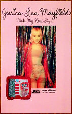 JESSICA LEA MAYFIELD Make My Head Sing 2014 Ltd Ed RARE Poster+FREE Indie Poster