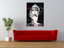 WM BAD HABITS SMOKING NUN TATTOO INK GIANT ART PRINT PANEL POSTER NOR0563