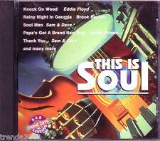 This Is Soul R&B Legends CD Classic 60s 70s SAM DAVE JAMES BROWN EDDIE FLOYD