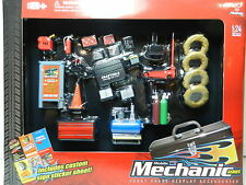 Phoenix Toys 1:24 *MOBILE MECHANIC* 23pc Garage TOOL SHOP ACCESSORY SET *NIP*