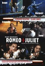 "ROMEO AND JULIET Movie Poster [Licensed-NEW-USA] 27x40"" Theater Size (Dicaprio)"