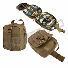 VISM NcSTAR Rip Away EMT Military MOLLE Utility Pouch Medic Bag Aid Kit Tan