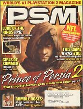 PSM July 2004 Prince of Persia 2, Rumble Roses w/ML VG 070816DBE2