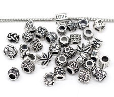 Lot de 100 Charms breloque argent tibet - C76