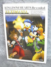 KINGDOM HEARTS Re:coded Ultimania Game Guide Book Japan  DS SE08*