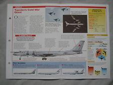 Aircraft of the World Card 194 , Group 4 - Tupolev Tu-95 'Bear A/B/C/G'