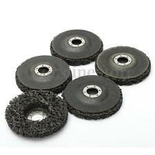 5 Pack 110mm/4.5'' Poly Strip Wheel Discs Paint Rust Remover Clean Angle Grinder