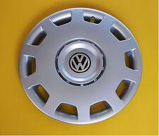 """15"""" Volkswagen Caddy, Polo, Golf, Fox.. rueda Adornos, cubiertas, Tapacubos, cantidad 4"""