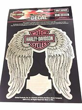 Harley Davidson Pink Winged Bar & Shield Decal Genuine New DC072063