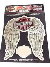 Harley DAVIDSON barra y escudo de la etiqueta Rosa con Alas Genuino Nuevo DC072063